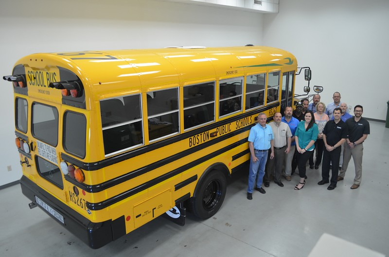 Boston Public Schools will operate 11 percent of its bus fleet on propane autogas starting with the 2015-2016 school year. The school district is purchasing 86 Blue Bird Propane Vision school buses, with plans to convert its entire fleet to the cleaner operating alternative fuel over the next decade.